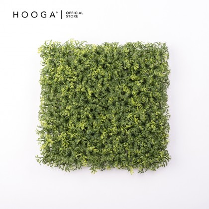 HOOGA 03OPGE001 Square Grass SOD Faux Botanical