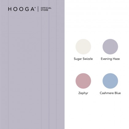 HOOGA Hayden Dobby Acella Fitted Sheet