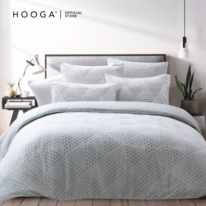 HOOGA Smith Quilt Cover Set 800Tc (Charlee)